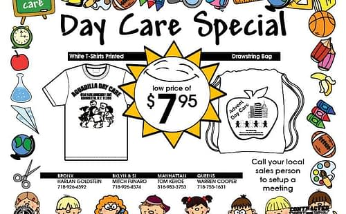 Daycare Uniform PreK Kindergarden contract